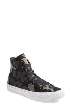 Converse Chuck Taylor® All Star®  Chuck II  Camo Print High Top Sneaker  (Women)  25a00761f
