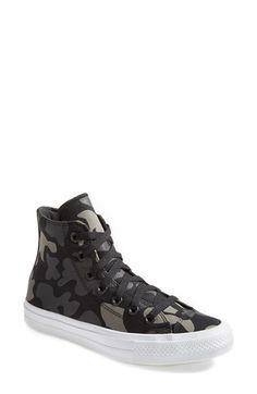Converse Chuck Taylor® All Star®  Chuck II  Camo Print High Top Sneaker  (Women)  4f5ea2e17