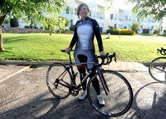 kristy scyrmgeour- Women's cycling is having  a moment. Nice bike!