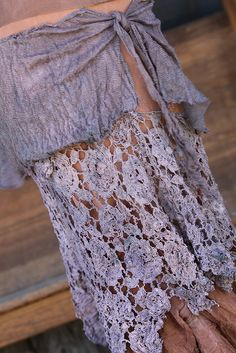 Tiered Skirt by Diana Frey, via Flickr