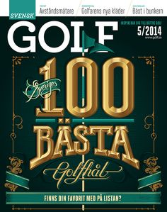 GOLF by Martin Schmetzer, via Behance