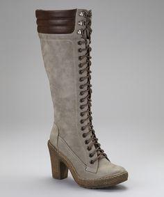 Gray Montana Boot