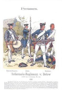 Band XIV #26.- Preußen. Infanterie-Regiment v. Below. 1757.