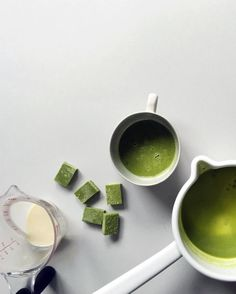 Made matcha hot chocolate with some Nama Chocolate. // Instagram: @ohhowcivilized