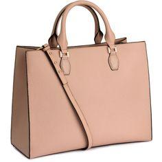 H&M Handbag (£30) ❤ liked on Polyvore featuring bags, handbags, shoulder bags, powder, studded purse, h&m, red shoulder bag, studded shoulder bag e red studded purse