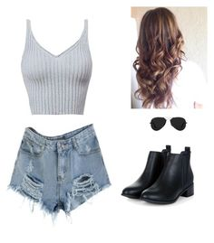 """""""Set#238"""" by anneclo2 on Polyvore featuring Ray-Ban"""