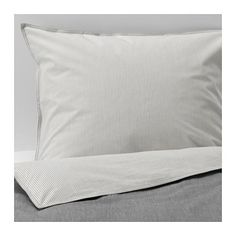 BLÅVINDA Duvet cover and pillowcase(s) IKEA Chambray is woven from white and colored threads which give the fabric a lively look and soft color tones.