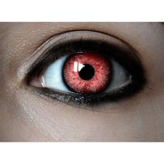 Red Contact ❤ liked on Polyvore featuring eyes, contacts and makeup