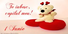 Te iubesc, copilul meu! Happy Valentines Day, Teddy Bear, Facebook, Saints, Valentines, Messages, Cute, Friends, Happy Valentines Day Wishes
