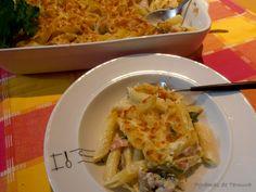 7gramas de ternura: Macarrão no Forno com Frango e Cogumelos