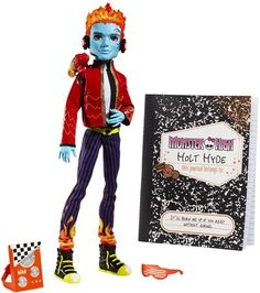 New Monster High Dolls~ Holt Hyde and Ghoulia Yelps  sc 1 st  Pinterest & 183 best Monster High images on Pinterest | Monster high dolls ...