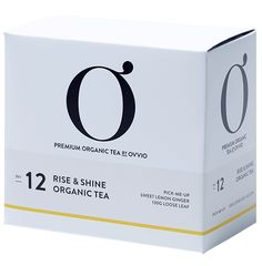 No: 12 RISE & SHINE ORGANIC TEA – Ovvio Organics