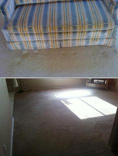 This carpet cleaning business offers 24-hour, same-day carpet installation, repair, retail, and carpet and upholstery cleaning, including stain removal and deodorizing, with free sanitizers.
