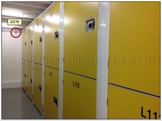 Self Storage with CCTVed on Lockers.