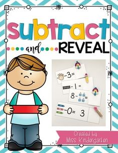 Help your students practice their fact fluency with these fun cards! Your students can use any subtraction strategy to solve these problems. You can even give them tiny manipulatives to make it even more fun! These are perfect for your math centers or RTI groups!