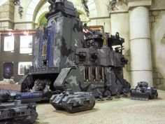Imperial Guard, Leviathan, Scratch Build, Tank, Volpone