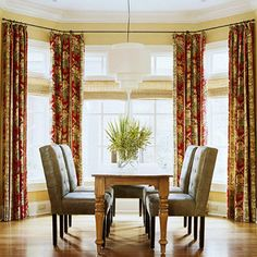 1000 Images About Bay Window Treatments On Pinterest