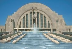 Union Terminal, now our Natural History Museum.  I love it when they have the fountains going!