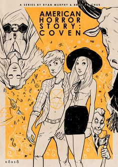 American Horror Story: Coven (fanart posters) on Behance