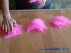 how to make the felted flower.wmv