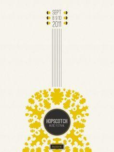 guitar flower