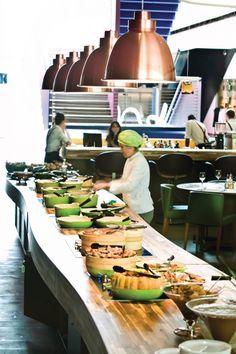 Restaurante Santinho || Instituto Tomie Ohtake