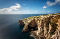The Blue Grotto. by Dieter Weck on 500px