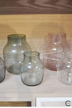 SILENT glass vase | Muuto at C-More interieuradvies.blogspot.nl Scandinavian Design, Copenhagen, Really Cool Stuff, Glass Vase, Interior Design, Jars, Blog, Inspiration, Lifestyle