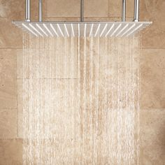 From rainfall and waterfall shower panels to individual rain shower heads – with ceiling or wall-mount installation, shop rain showers and shower heads. Master Bathroom Shower, Steam Showers Bathroom, Small Bathroom, Bathroom Ideas, Bathroom Remodeling, Bathroom Ladder, Zen Bathroom, Modern Bathrooms, Glass Bathroom