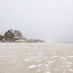 [CasaGiardino]  ♛  howieguja:  Single digit wind chills and dropping. (at Little Plains Beach)