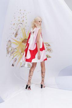 Cynthia Rowley Spring 2015 Ready-to-Wear | clouds
