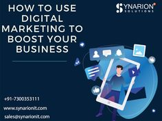 Improve Your Website Rank with Digital Marketing Services at Synarion IT Solutions. We deliver Best digital marketing services for you. Online Digital Marketing, Website Ranking, Improve Yourself, Business, Store, Business Illustration