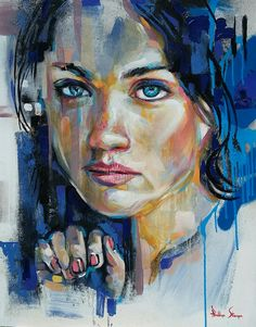 South African artist Phillip Steyn   commissions of large colourfull and expressive contemporary portraits in acrylic for his clients. phillipsteynart@gmail.com