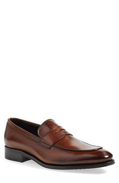 Free shipping and returns on To Boot New York 'Dupont' Penny Loafer (Men) at Nordstrom.com. Clean lines shape a sleek penny loafer crafted in Italy from shiny, smooth leather that is lightly burnished for a vintage-inspired look.
