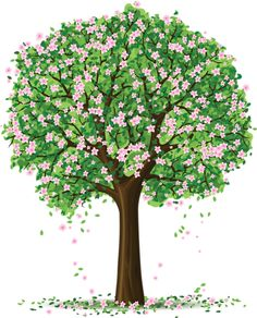 Ideas Tree Drawing Art Pictures For 2019 Decoration Creche, Cartoon Trees, Tree Clipart, Spring Tree, Tree Patterns, Tree Art, Art Pictures, Wallpaper Backgrounds, Watercolor Art