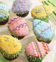 Ten Easter Cupcake Ideas