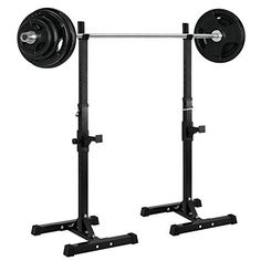 Ollieroo Barbell Rack 2PCS Gym Family Fitness Adjustable Squat Rack Independent Weight Lifting Bench Press Stands, http://www.amazon.com/dp/B01EOJFAG6/ref=cm_sw_r_pi_awdm_x_tlV0xbPB8BZ02