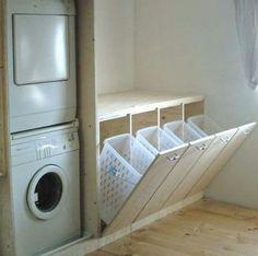 Recycling station idea