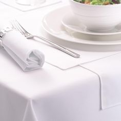 White Signature Tablecloths