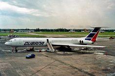 Um curioso quadrimotor IL-62 da empresa Cubana (Regis Sibille)