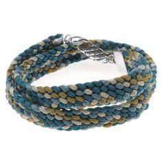 Tutorial - How to: Chino Kumihimo Flat Braid Wrap Bracelet | Beadaholique
