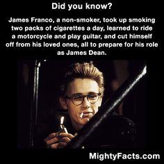 James Franco fact