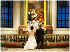 Bröllop Mariefreds kyrka Mariefred Vigsel  Fotograf Patrik Adolfsson