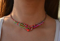 Strawberry Salad Necklace by FashionistasWorld on Etsy, €29.00