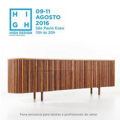 Está chegando a hora... Faltam somente 2 dias para a @highdesignexpo.  Sao mais de 80 marcas reunidas entre todos os eventos simultaneos.  A programacao esta incrivel. A feira tera um espaco super cool chamado STUDIO HIGH onde vai acontecer o Cafe  Talks Belas Artes com mini talks de designers e arquitetos.  E de 09 a 11 de agosto junto com a semana de design de Sao Paulo o DW!. Imperdivel não é mesmo?! #highdesignexpo #estamosjuntos #eventoolioli #olioliteam #bloghomeidea #pontodecor