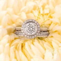 """A flower cannot blossom without sunshine, and man cannot live without love."" - Max Muller   Let your love bloom with @tacori"