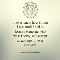 Lessons Learned in Life | I never knew how strong I was.