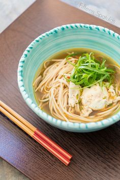 15-Minute Ramen Noodle Soup.  Ingredients:  1 tbsp grapeseed oil 1 tbsp minced garlic 1/2 tsp grated ginger 4 scallions, sliced (white and green parts) 1/2 tsp chili sauce 3 cups chicken stock 3 cups beef broth 1 tbsp fish sauce* 1 tbsp soy sauce 1 cup water 4 eggs, optional 1 lb lo mein, ramen, or somen noodles