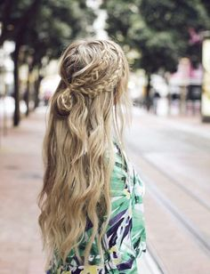Braided Ideas for Long Hairstyles 2018 with Knot Style