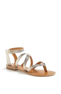 BP. 'Adriatic' Sandal available at #Nordstrom #metallic #sandals